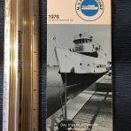 Maryland Port Administration: MV Port Welcome 1976 Flyer