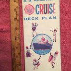 United States Lines: SS America Cruise Plan