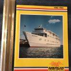 American Cruise Lines: 1983-84 Costal Cruise Brochure