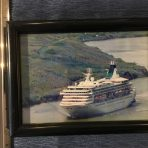Princess Cruises: Royal Princess Framed Photo
