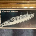 American Export: SS Atlantic Deck Plan Booklet 6/65
