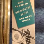 Wilson Line: How to run an Organization Outing and make money booklet.