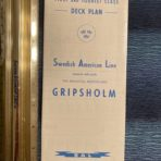 Swedish American Line: The Beautiful Gripsholm Deck Plans.