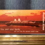 """Italian Line: """"You and Your family"""" flyer"""