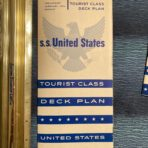 United States Lines: SSUS Preliminary Feb 1953 Tourist Deck plans