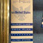 United States Lines: SSUS Preliminary Feb 1953 Tourist Deck plans