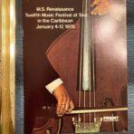 Paquet Cruises: MS Renaissance music Festival at Sea Brochure.