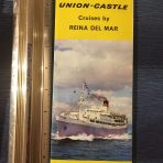 Union Castle: Reina Del Mar Deck Plan