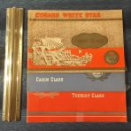 Cunard White Star: 3 Classes of Interior Brochures dated 1949: Super Deal!