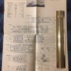 Zim Lines: MS Moledet Deck Plan Folded Poster