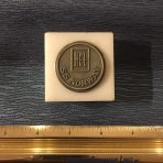 NCL : Norway Marble/Pewter Paperweight