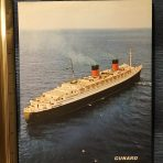 Cunard: Queen Elizabeth Older style Card #2