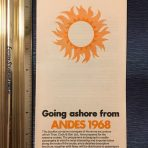 Royal Mail: Andes Going ashore Guide 1968