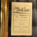 WSL: RMS Majestic Race Card 1932
