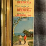 NGL: ss Berlin Bermuda Cruise Folder and Deck Plan
