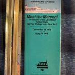 Italian Line cruises: Meet the Marconi Deck Plan Brochure