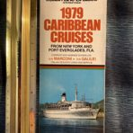 Italian Line cruises: Marconi and Galilei 1979 Cruises Leaflet