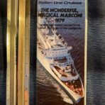 Italian Line cruises: The Wonderful Magical Marconi Deck Plan Brochure 1979