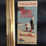 Baltic Shipping Company: MS Maxim Gorki Brochure Deck Plan 1975