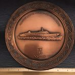Home Lines: SS Oceanic Copper Plate