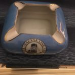 Maersk Line: Blue and Gold Funnel Ashtray