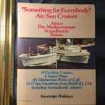 Sovereign Holidays: 1976 Air/ Sea Cruises Ithaca and Calypso.