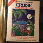 Chandris: Cruises Summer/ Fall 1987 Preview Edition 4 ships