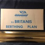 Chandris: RHMS Britanis Berthing Plan Blue version