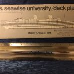 Orient Overseas: SS Seawise University Deck Plan.