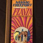 Costa Line: Flavia Brochure Deck plan 1971.