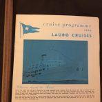 Lauro Cruises: Roma 1970 Program Brochure