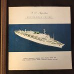 Moore McCormack: SS Argentina Northlands Cruise 1968 Voyage Summary.