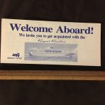 "Regency Cruises: Regent Rainbow ""Welcome Aboard"" Plan"