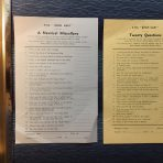 Cunard Line: RMS Queen Mary Gaming Sheets