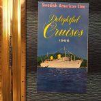 SAL: Delightful Cruises 1966 Mini Foldout
