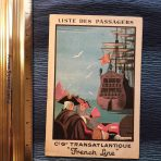French Line: SS France Second Mediterranean/ Moroccan Cruise Passenger List 1928