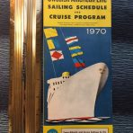 SAL: 1970 Sailing Schedule and Cruise Program