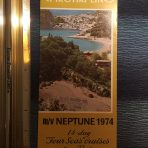 Epirotiki Cruises: 1974 Neptune Brochure /Deck Plan