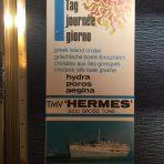 Epirotiki Cruises: TMV Hermes Plan and flyer