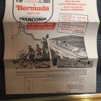 Cunard: Franconia 1967 Easter Flyer