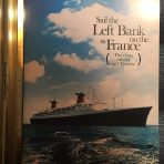 French Line: Sail The Left Bank SS France Brochure