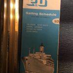 P&O 69-71 Sailing Schedule