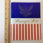 United States Lines: SS United States FC Passenger list from NYC June 14th 1962