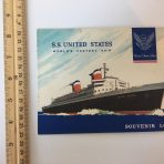 United States Lines: SS United States Souvenir Log 277 Eastbound