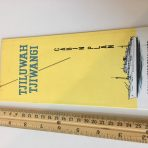 Royal Interocean Lines: Tjiluwah Tjiwangi Deck Plan Fold Out 1966