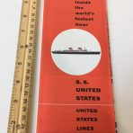 "United States Lines: SS United States White Dot ""A Look Inside"""