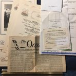 United States Lines: SS United States Eastbound 328 voyage items