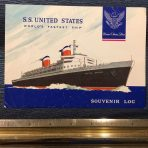 United States Lines: SS United States Souvenir Log 331W