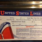 United States Lines: SS America Ticket Envelope