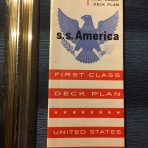 United States Lines: SS America First Class DP